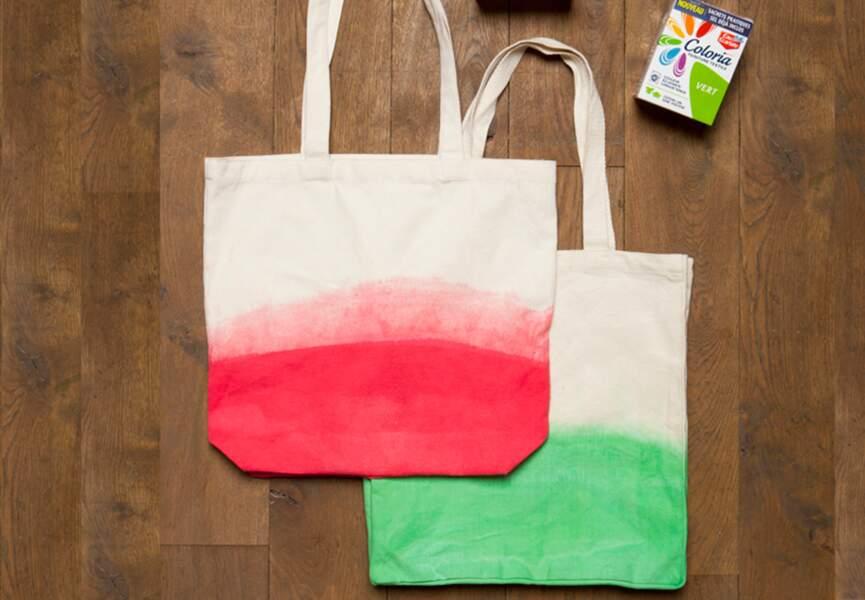 Un sac tie & dye