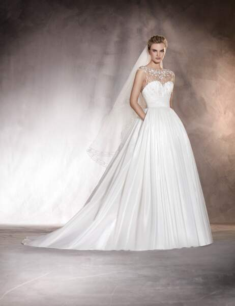 Robe de mariée Pronovias : Aurora