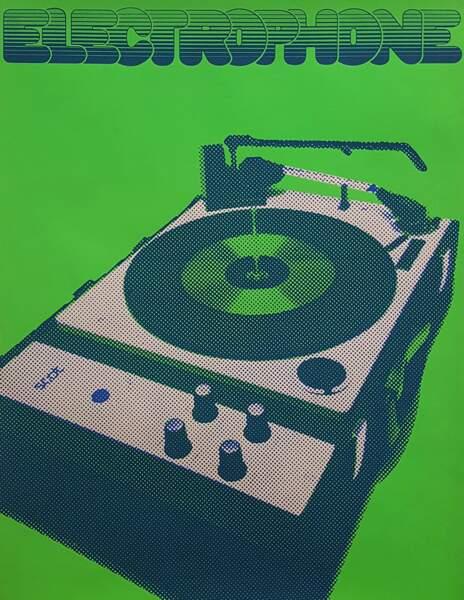 Affiche Electrophone – Studio Prisunic