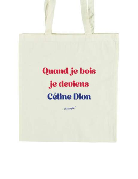 Mode à message : le tote bag drôle