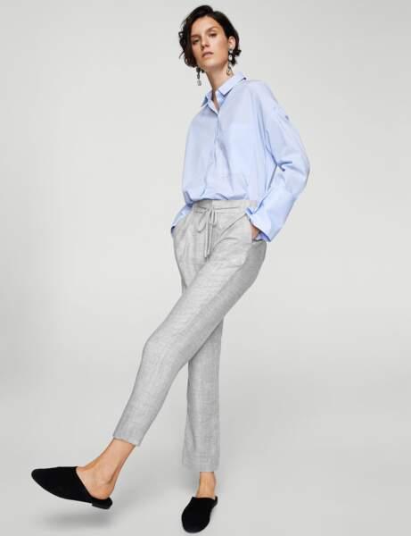 Mango : le pantalon de tailleur confortable