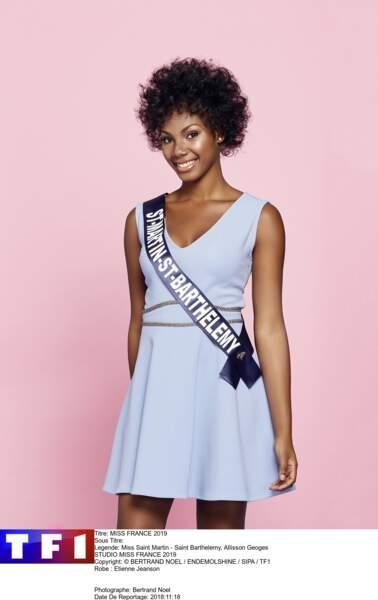 Miss Saint Martin - Saint Barthelemy, Allisson Georges
