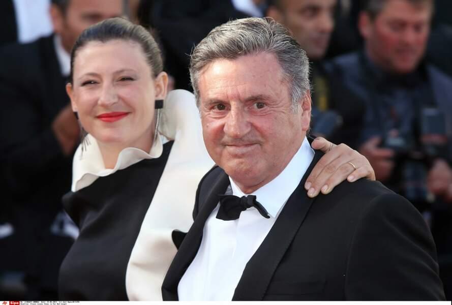 Daniel Auteuil et sa femme Aude Ambroggi : 2013