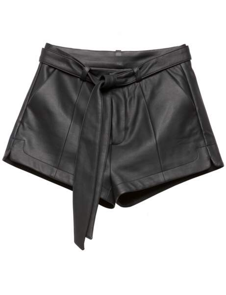 Le cuir noir Sexy