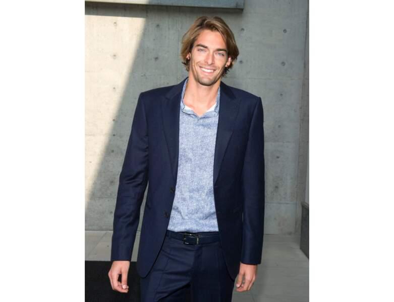 Il est photographié à la fashion Week de Milan en 2013