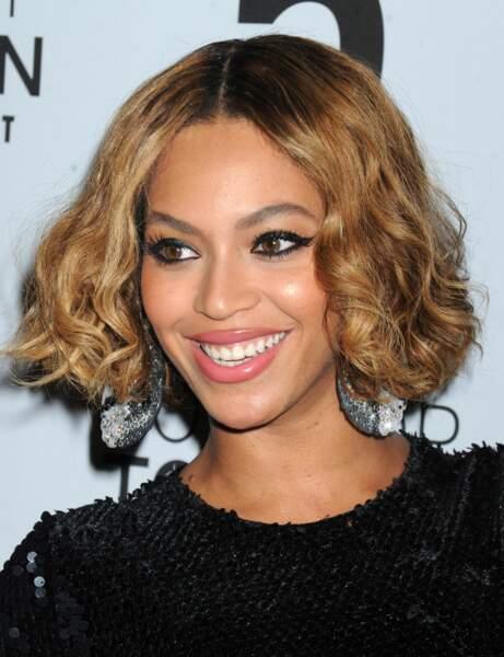J'ai un visage ovale, j'adopte le carré bouclé de Beyonce