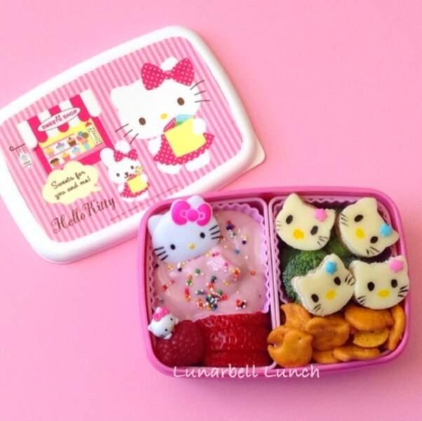 Lunchbox Hello Kitty pour le déjeuner des filles