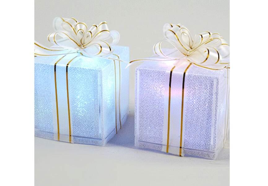 Des cadeaux lumineux LED