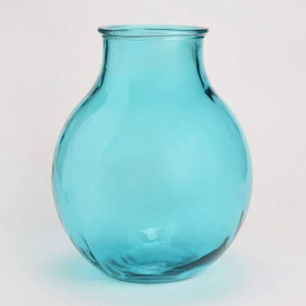 Vase bleu turquoise