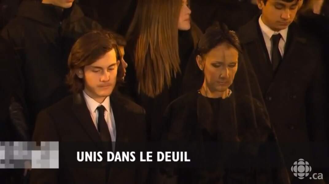Céline Dion et René-Charles, unis dans la douleur