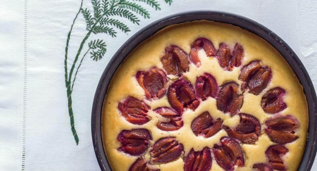 Gâteau superfacile aux prunes