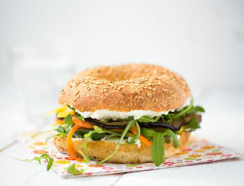 Bagel végétarien