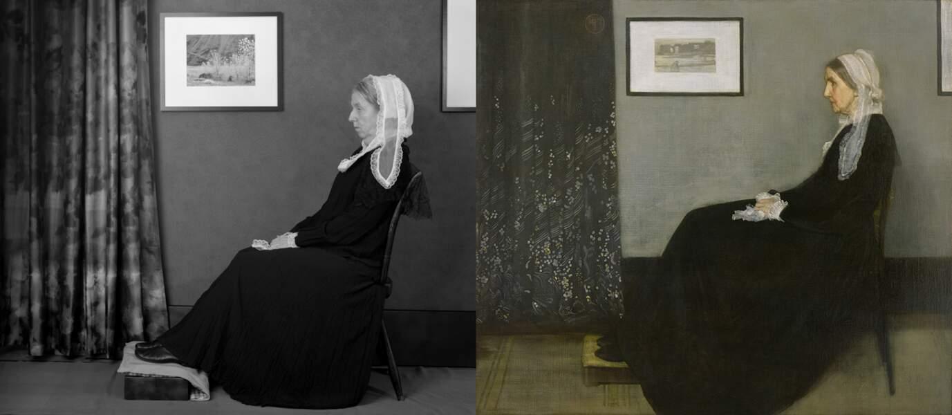 Whistler's Mother, de James McNeill Whistler