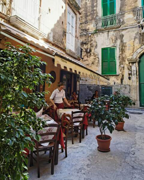 Restaurant à Tropea
