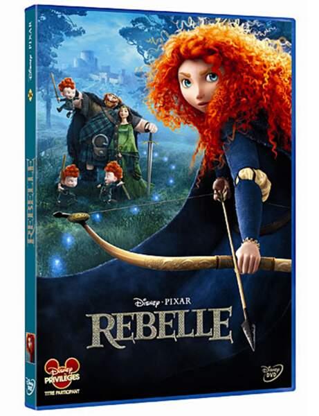 DVD Rebelle, 19,99 euros