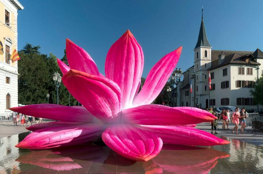 De l'art contemporain en plein cœur d'Annecy