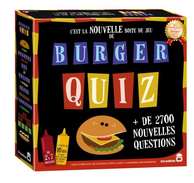 le jeu Burger Quizz de Dujardin
