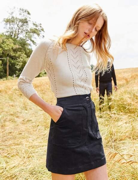 La jupe courte