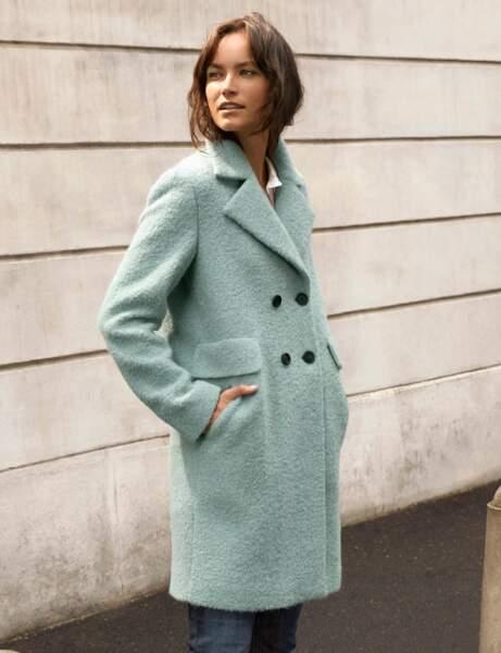 Le manteau pastel