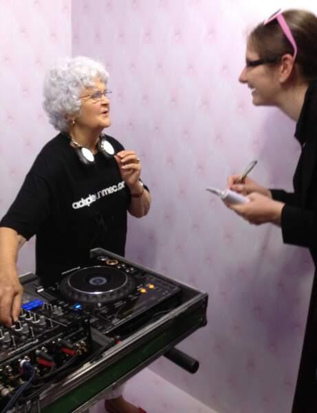 Lucienne, DJ prête à adopter