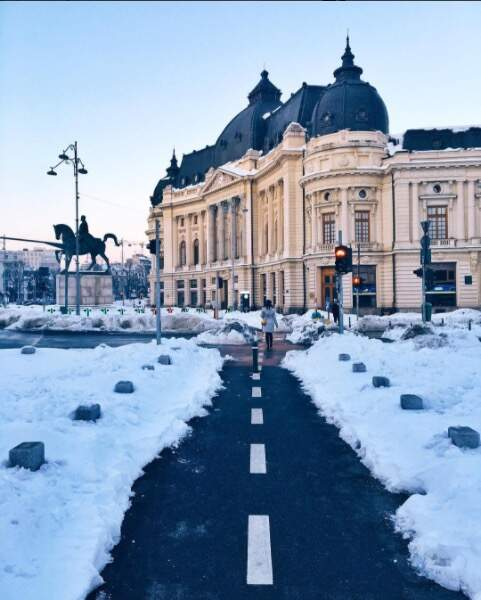 Une autre photo de la capitale roumaine