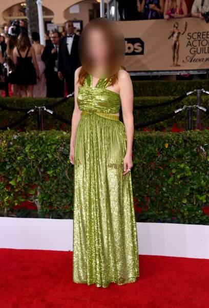 Oscar de la meilleure actrice en 2015...