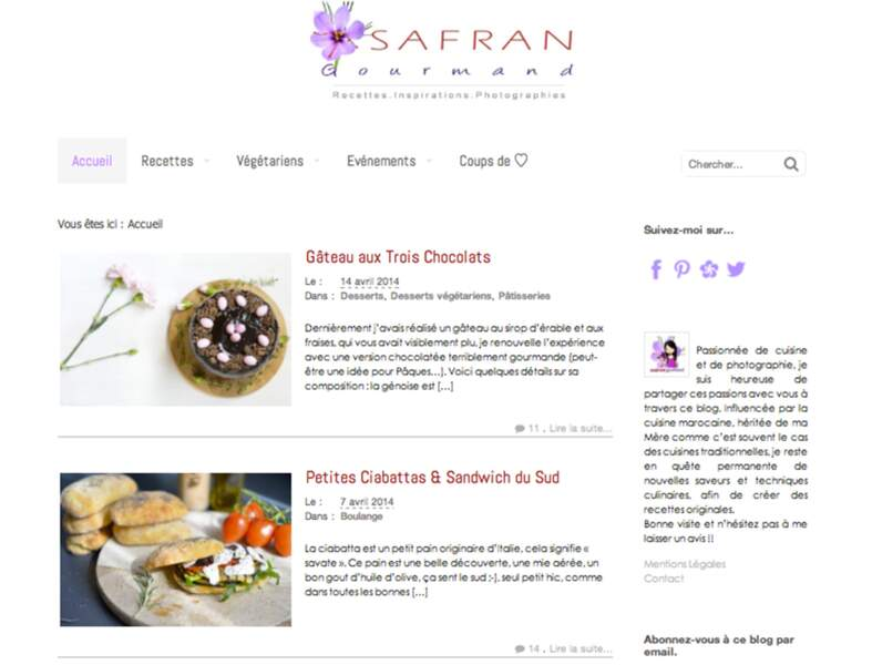 Safran gourmand