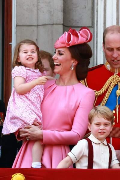 Charlotte, Kate, George et William