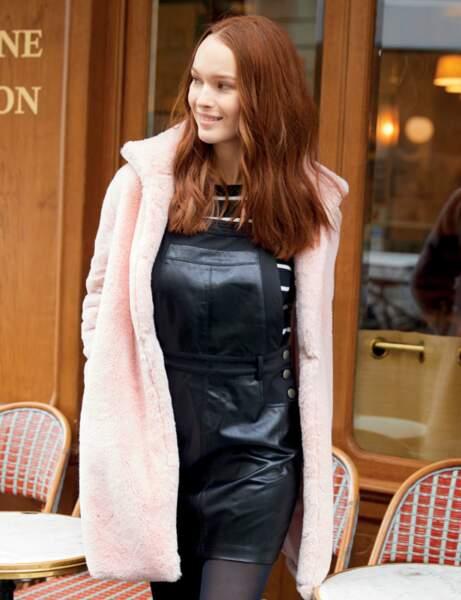 Le manteau moumoute