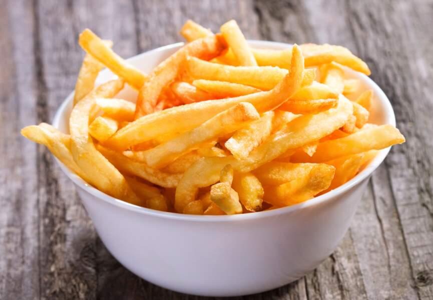 De l'ail pour des frites délicieuses