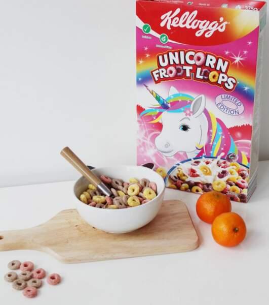 Les céréales Licorne FrootLoops