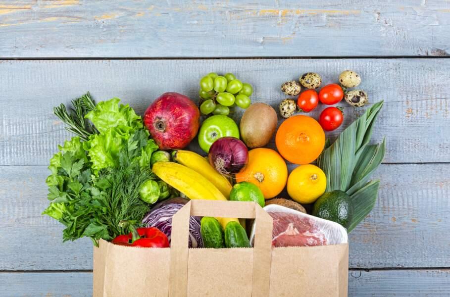 Des fruits et légumes non lavés