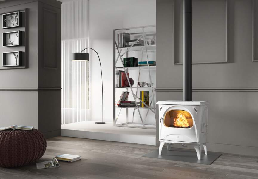 Nos poêles et radiateurs pour l'hiver : le poêle au look néo-rétro