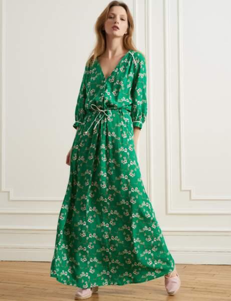 Robe d'été: verte