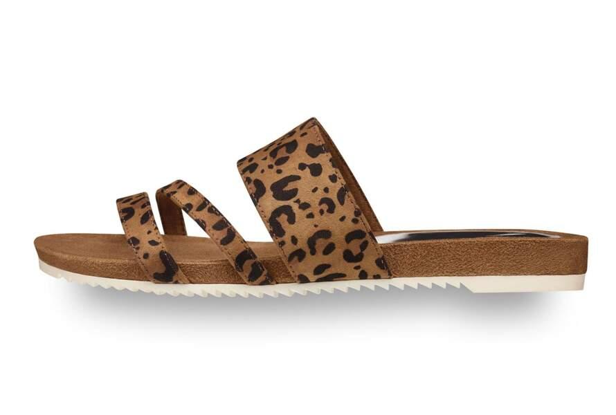 Mules léopard
