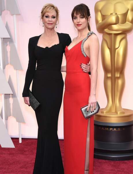 Mélanie Griffith et Dakota Johnson : tapis rouge