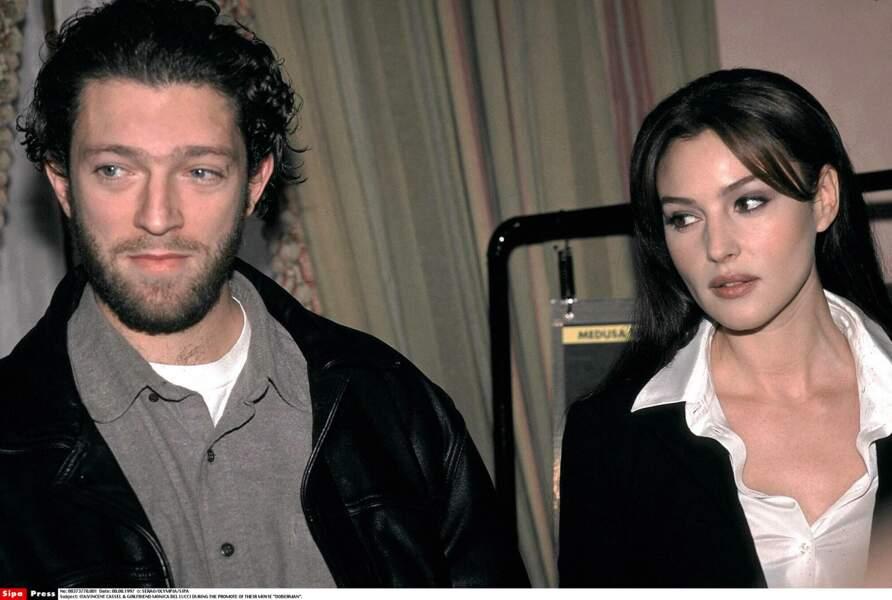 Vincent Cassel et Monica Bellucci : 1997