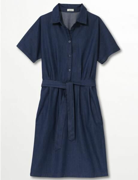 La robe en jean