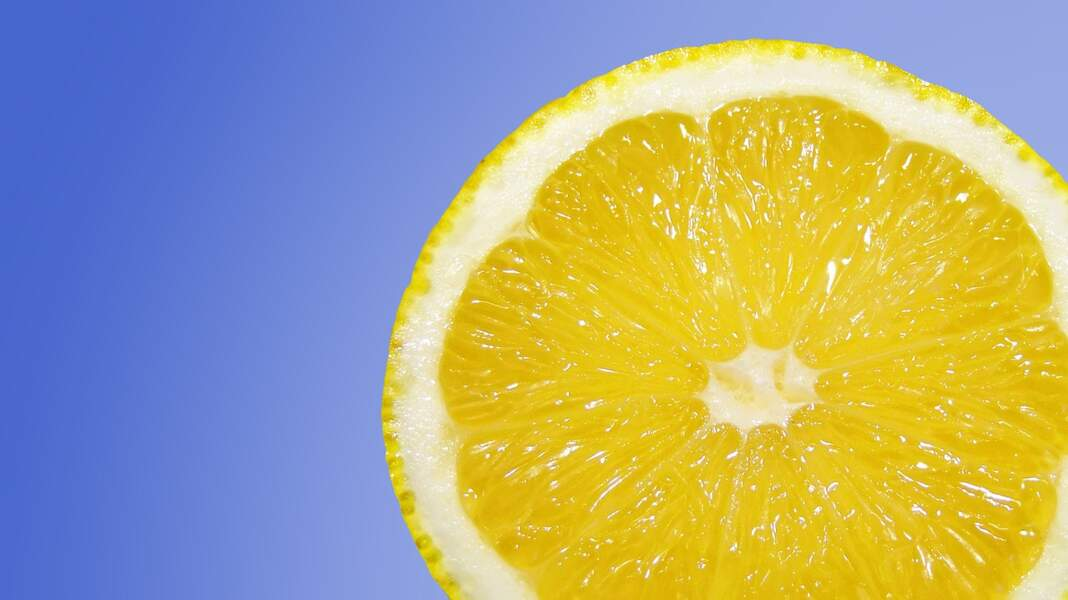 Le citron : antioxydant puissant