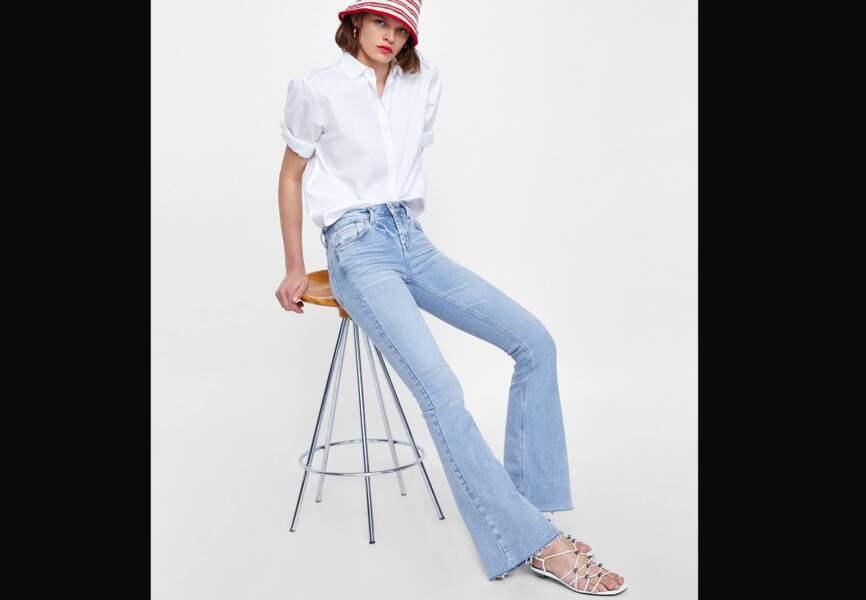 Nouveautés Zara: le jean flare