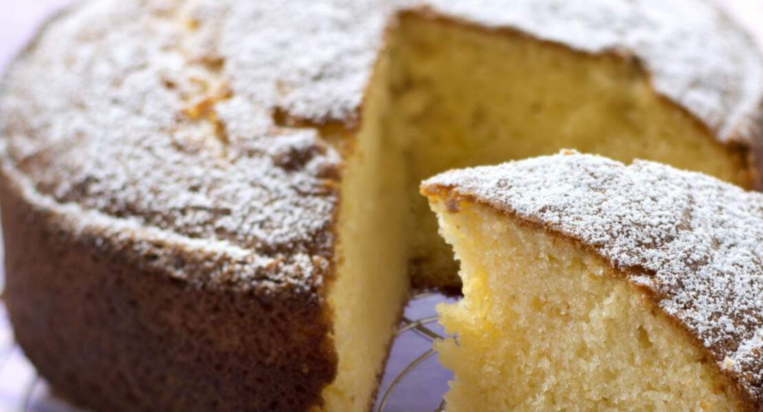 Gâteau sans oeufs et sans gluten