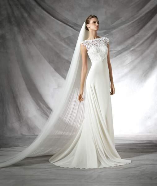 Robe de mariée Pronovias : Tacey