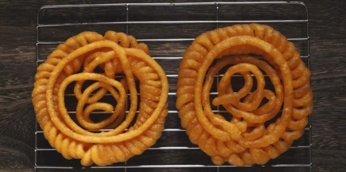 Pâtisserie orientale : Zlabia