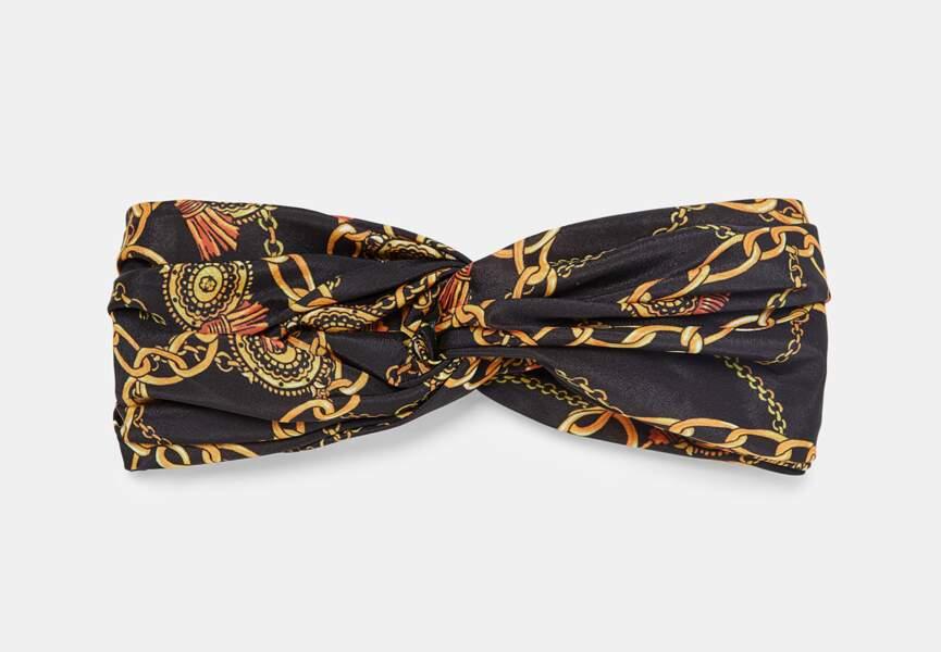 Nouveautés Zara: le bandeau chaînes