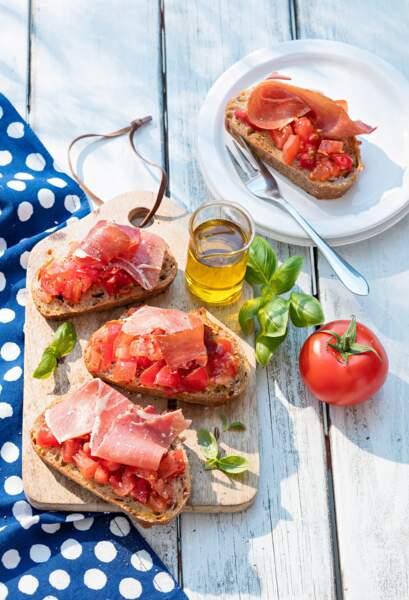 Tartines espagnoles