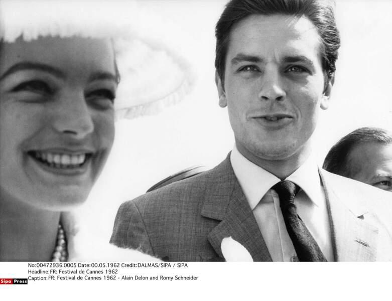 Romy Schneider et Alain Delon, 1958-1963