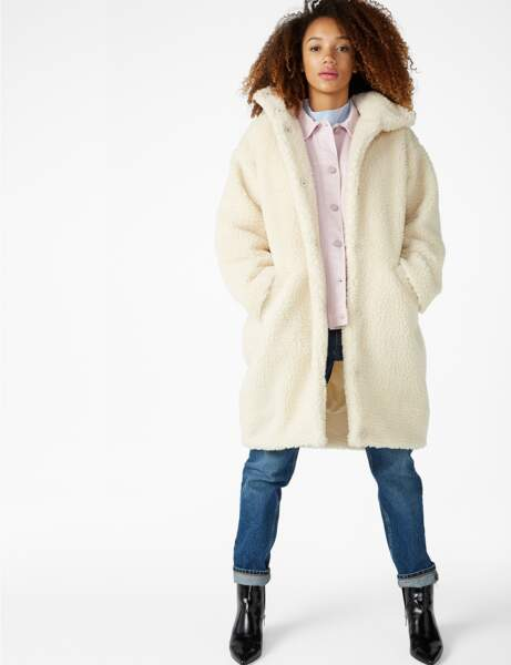 Manteau de fourrure : cocooning