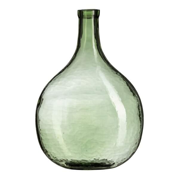 Un vase en verre