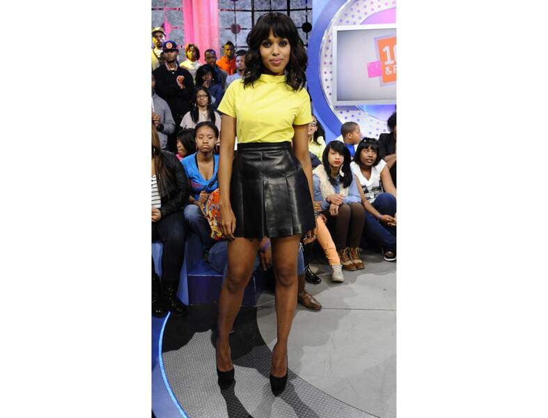 Le jaune citron comme Kerry Washington