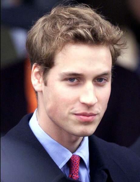 Le Prince William à 21 ans